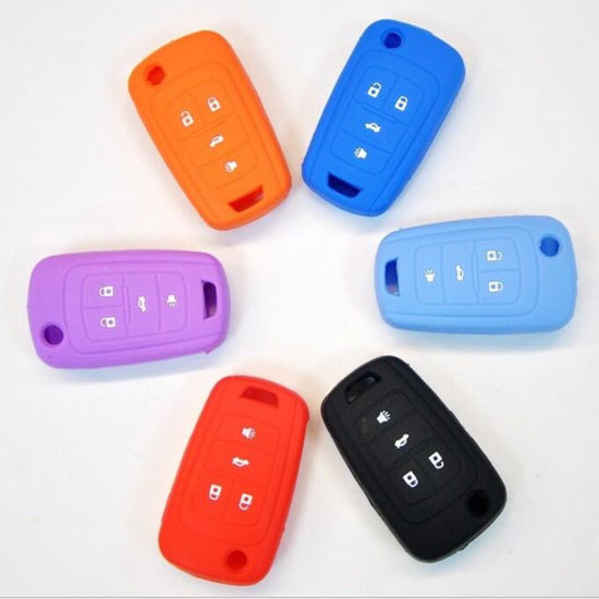 Wholesale OEM Soft and Durable Silicone Car Key Cover