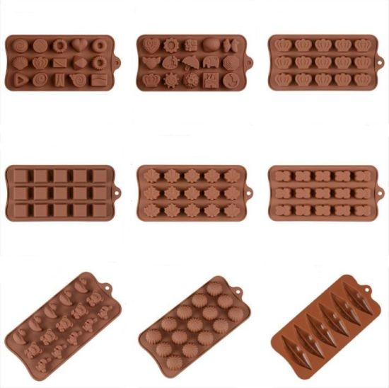 Half Round Small Silicone Chocolate Mold Cake Mold pictures & photos
