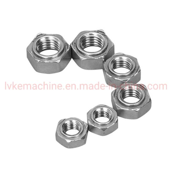 Fastener Grade 4.8 Zinc Plated Hexagon Nut pictures & photos