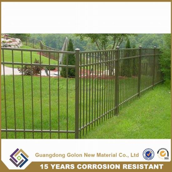 modern Style Galvanized Steel Fence / Iron Fence / Security Fencing pictures & photos