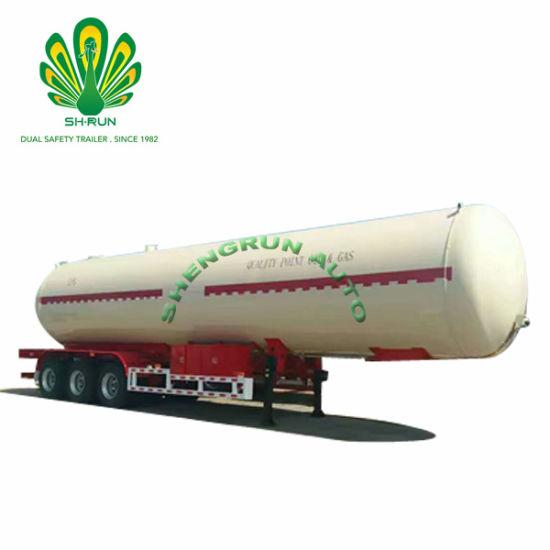 Liquefied petroleum gas trailer LPG tank semi trailer