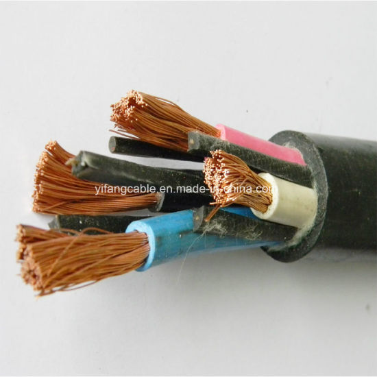 Flexible Copper Conductor Rubber Insulated Electric Wire Cable pictures & photos