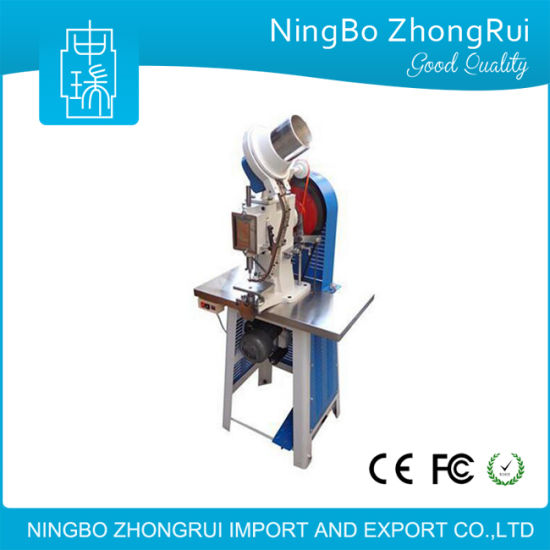 Electric Eyelet Machine for Handbags / Hang Tag Eyeleting Machine