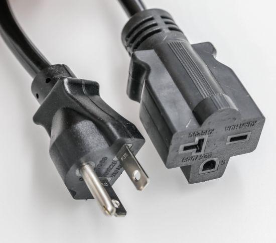 China Nema 5 15p Plug 3 Pin Plug Extension Cord Ul Etl China Nema