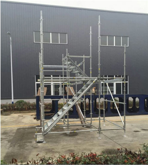 Ringlock Scaffolding System in Hot DIP Galvanized