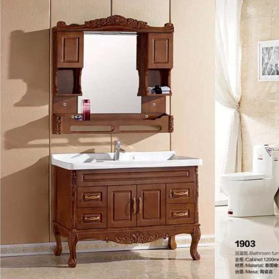 Solid Wood High Quality Bathroom Vanity