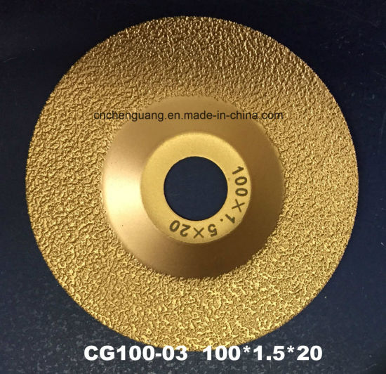 125mm Diamond Cutting Disc for Grinding of Cast Iron Parts and Metal Profile pictures & photos