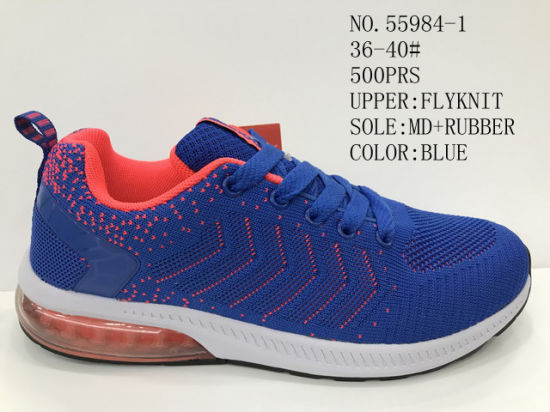 Flyknit Upper Comfortable Sport Stock Leisure Shoes