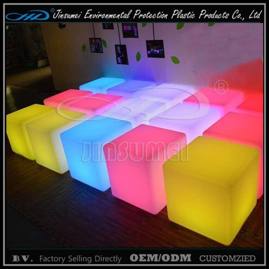 Night Club Furniture LED 30cm 40cm 50cm Cube pictures & photos