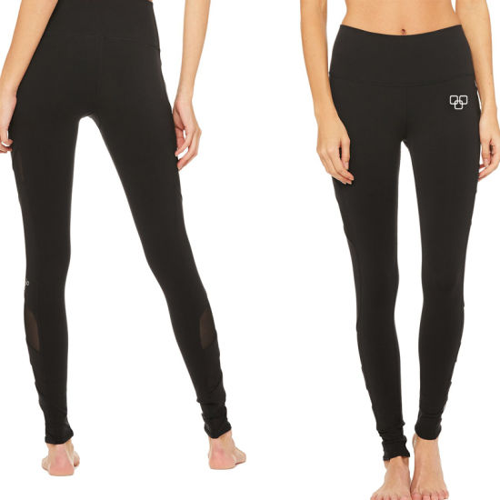 New Design Side Mesh Yoga Pants Breathable Leggings