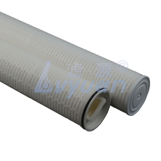 40 Inch High Flow Soe 1 Micron PP/Polypropylene Pleated Sediment Water Filters for Water Treatment Plant Filter