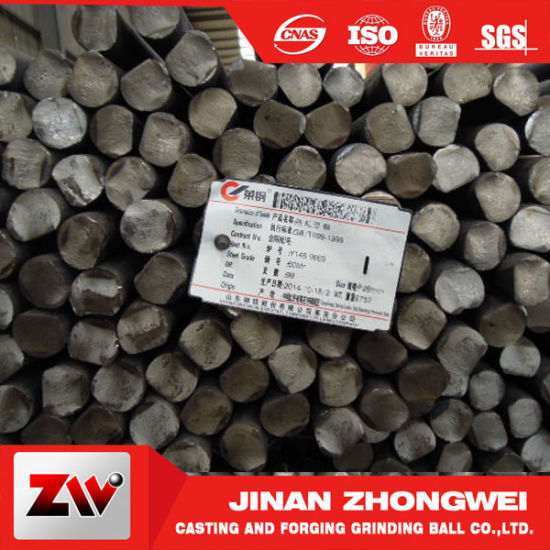 Heat Treatment Grinding Rods for Ball Mill pictures & photos