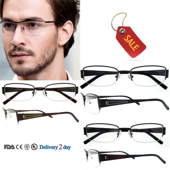China Custom Made Eyeglass Frames Fashion Eyewear Metal Cheap ...