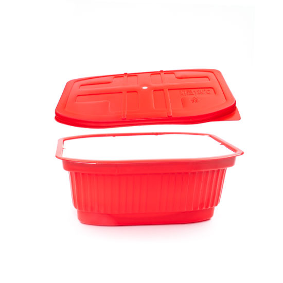 High Quality Available Mold PP Two Layers Plastic Food Packaging Boxes