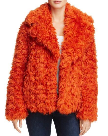 Winter Women Fashion Cropped Faux Fur Coats Wholesale for Christmas