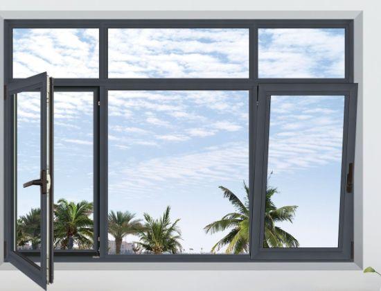 Aluminium Vertical Pivot Round Window Aluminium Pivot Horizontal Pivoting Casement Window