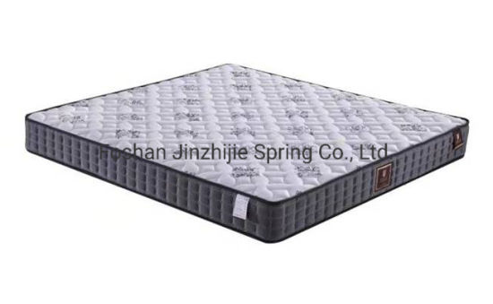 Mattress Euro-Top Latex Memory Foam Pocketed Coil-Spring Mattress for Hotel-Home-Bedroom-Furniture