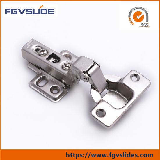 China Damper Adjustable Slow Close Face Frame Concealed Hinge ...