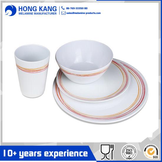 Custom Logo Multicolor Dinnerware Dinner Set Melamine Plate  sc 1 st  Dongguan Hongkang Melamine Products Co. Ltd. & China Custom Logo Multicolor Dinnerware Dinner Set Melamine Plate ...