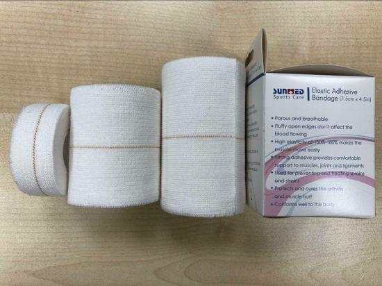 Zinc Oxide Elastic Adhesive Strapping Bandage
