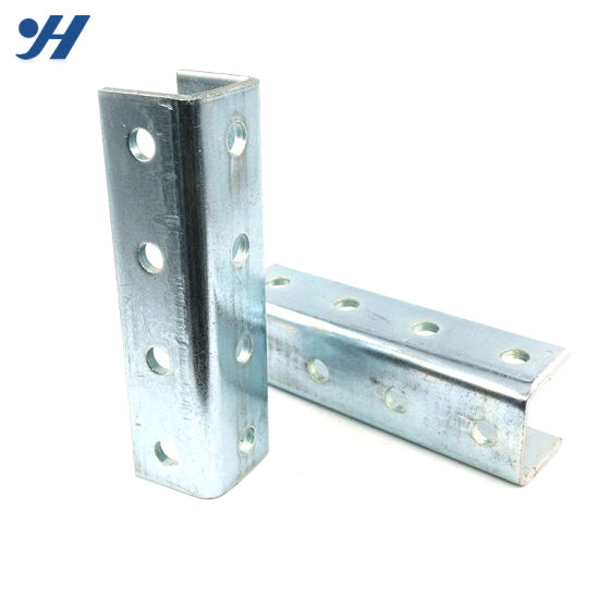 Double U Channel : China cold bending steel structure hanging double unistrut