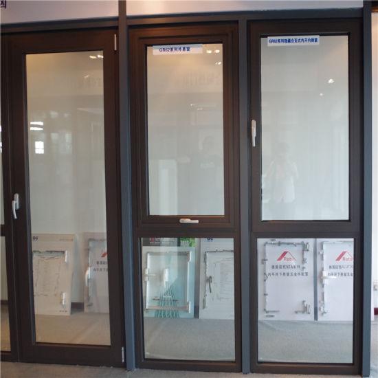 Glass Aluminium Window and Door with Aluminum Alloy Frame Sliding Tempered Laminated Double Triple Glazed Pane