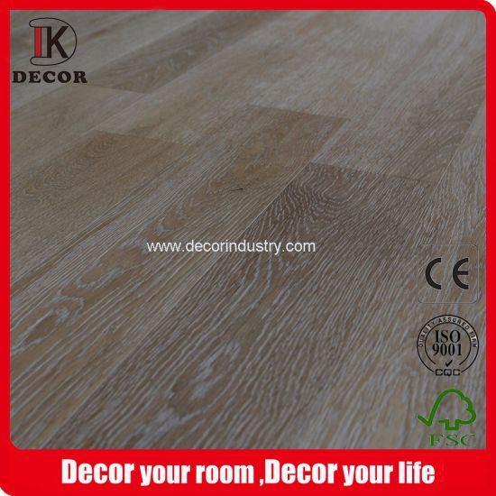Indoor Russian Oak Engineered Wood Flooring In Light Color