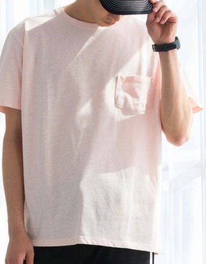 Sweat Resistant Custom Clothing Cotton/Polyester Tee Shirt Plain Men's T-Shirts