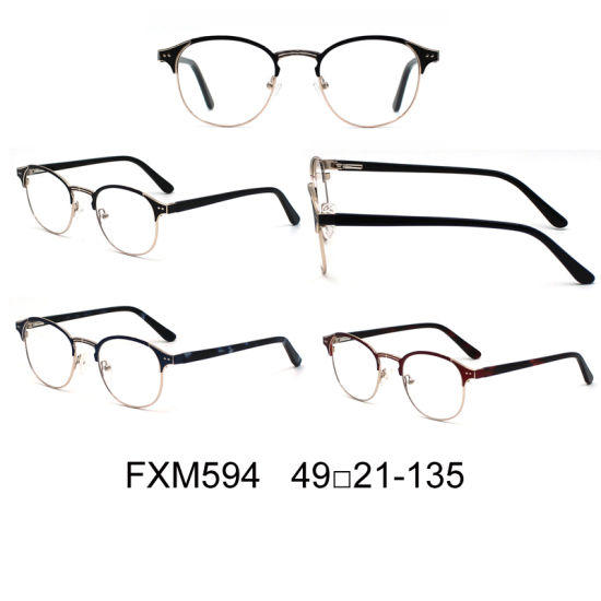 China Wenzhoustainless Steel Wholesale Cat Eye Metal Optical Frames ...