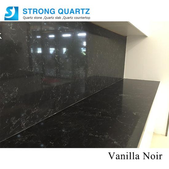 Wholesale Prefab Marble Veins Quartz Stone Kitchen Countertop