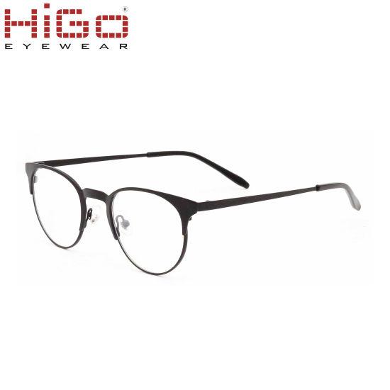 Latest Model Eyeglasses, Circle Lens Glasses, Stainless Steel Eyewear