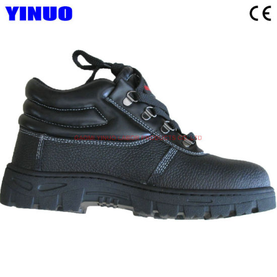 Genuine Leather Safetoe ESD Industrial Safety Shoes