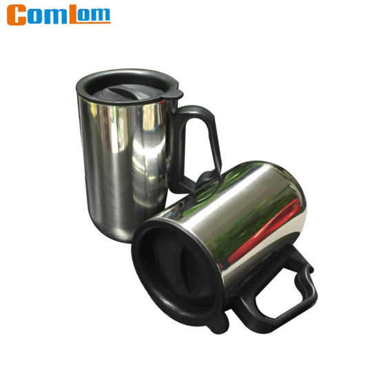 5aade6aabb3 China CL1C-M102 Comlom Stainless Steel Travel Coffee Mug With Handle ...