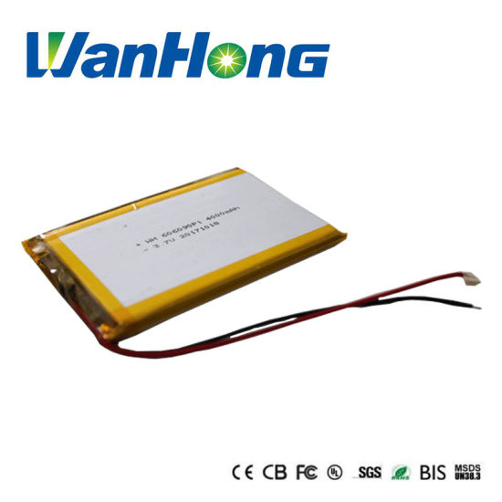 Attendance Machine Rechargeable Lithium Li-ion Battery Pack Li-Polymer Battery 606090pl 4000mAh 3.7V