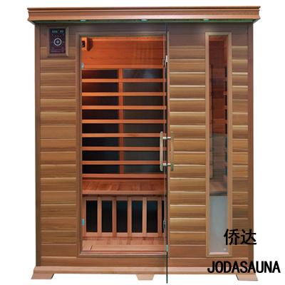 Far Infrared Sauna Canadian Red Ceder Solid Wood Sauna Cabin