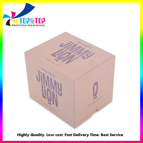 OEM Competitive Price Kraft Paper Perfume/Cosmetic/Gift/Jewelry Storage Box pictures & photos
