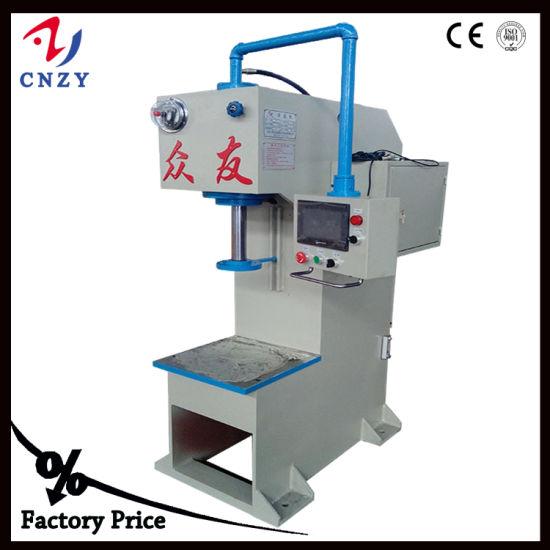 China Small Workshop Power hydraulic C Frame Press 20ton - China C ...