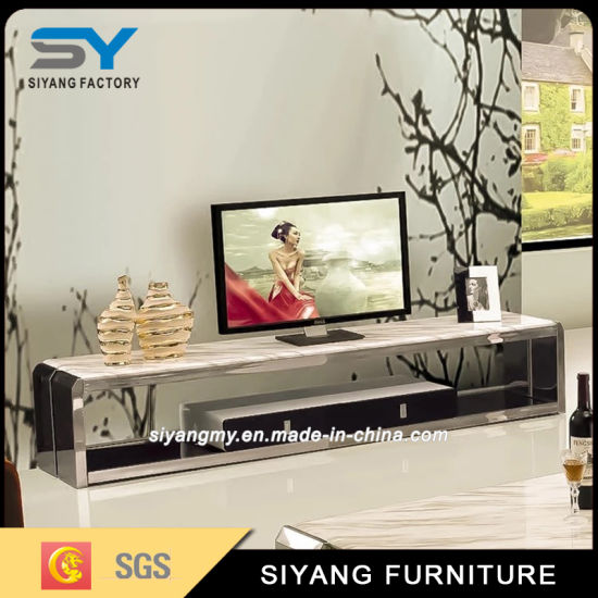 Modern Furniture Melamine Board TV Cabinet Television Set Projector Stand