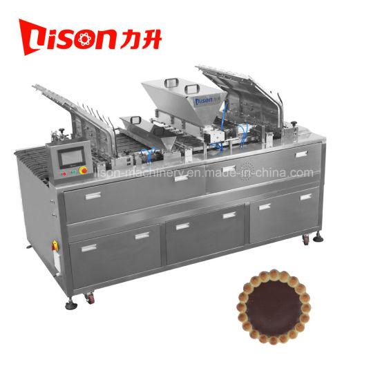 Chocolate or Fruit Jam Depositor Biscuit Making Machine Factory