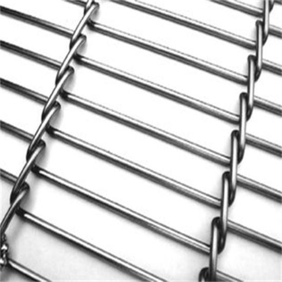 China Metal Flat Strip Transmission Wire Mesh Belt - China Flat Flex ...