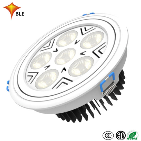 China Dimmable COB Recessed IP44 Downlight 35W LED Square Down Light Housing 35W LED Light pictures & photos