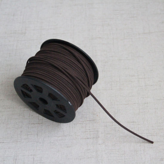 China Faux Leather Cord Soft Suede Lace