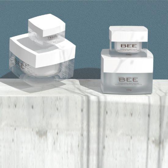 Acrylic Plastic Cosmetic Packaging Cream Jar for Facial Cream Body Cream (AO-50C)