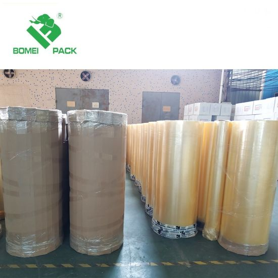 BOPP Hot Melt Adhesive Tape Jumbo Roll/High Quality Packing/Packaging Tape pictures & photos