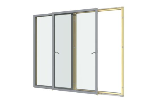 Aluminum Frame Security Mesh Door with Durable Screen pictures & photos