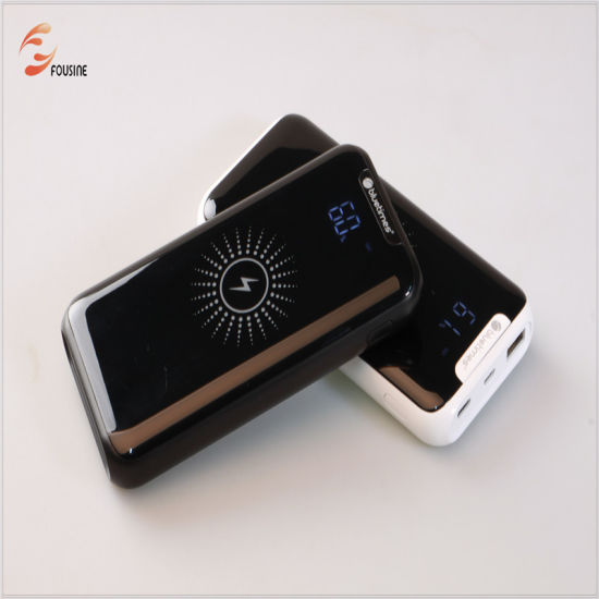 Wireless Power Bank 10000mAh 5V 2.1A pictures & photos
