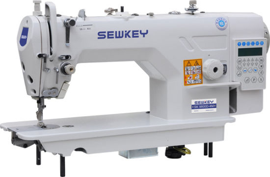 Sk-9800D High-Speed Direct Drive Lockstitch Machine with Auto Trimmer