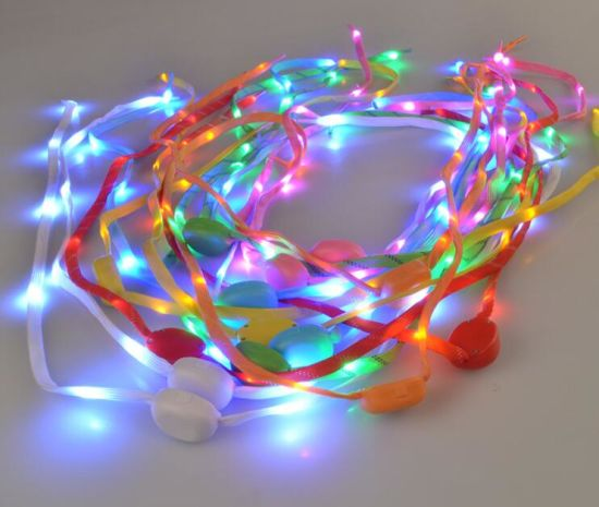 New Design Flashing Lighted LED Shoelace pictures & photos