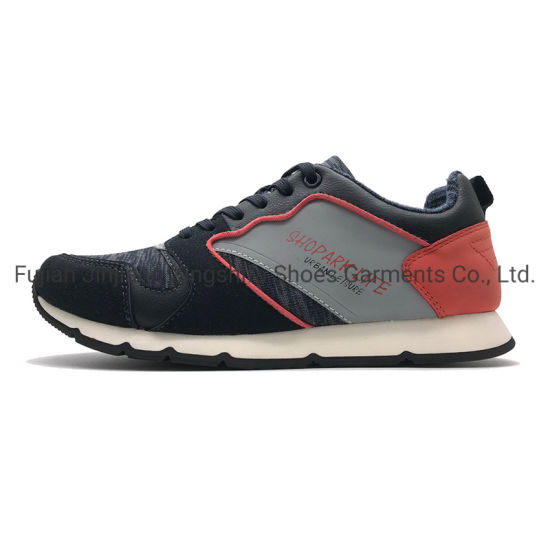 PU Textile Casual Sports Shoes for Men