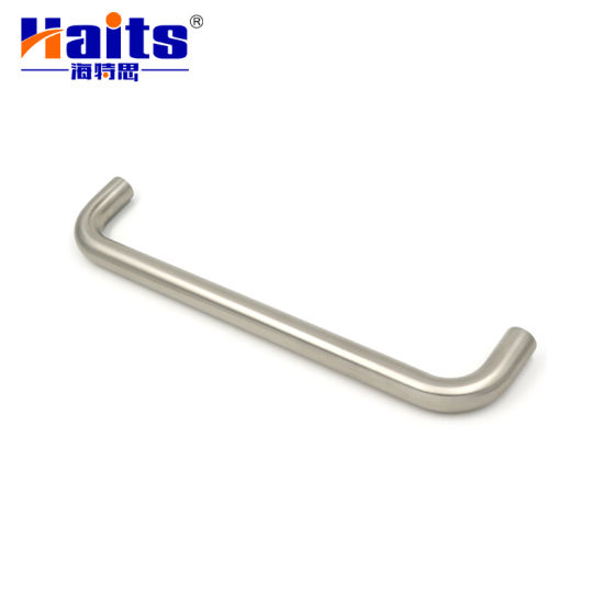 Custom Made Stainless Steel Lever Oval Door Pull Handle pictures & photos